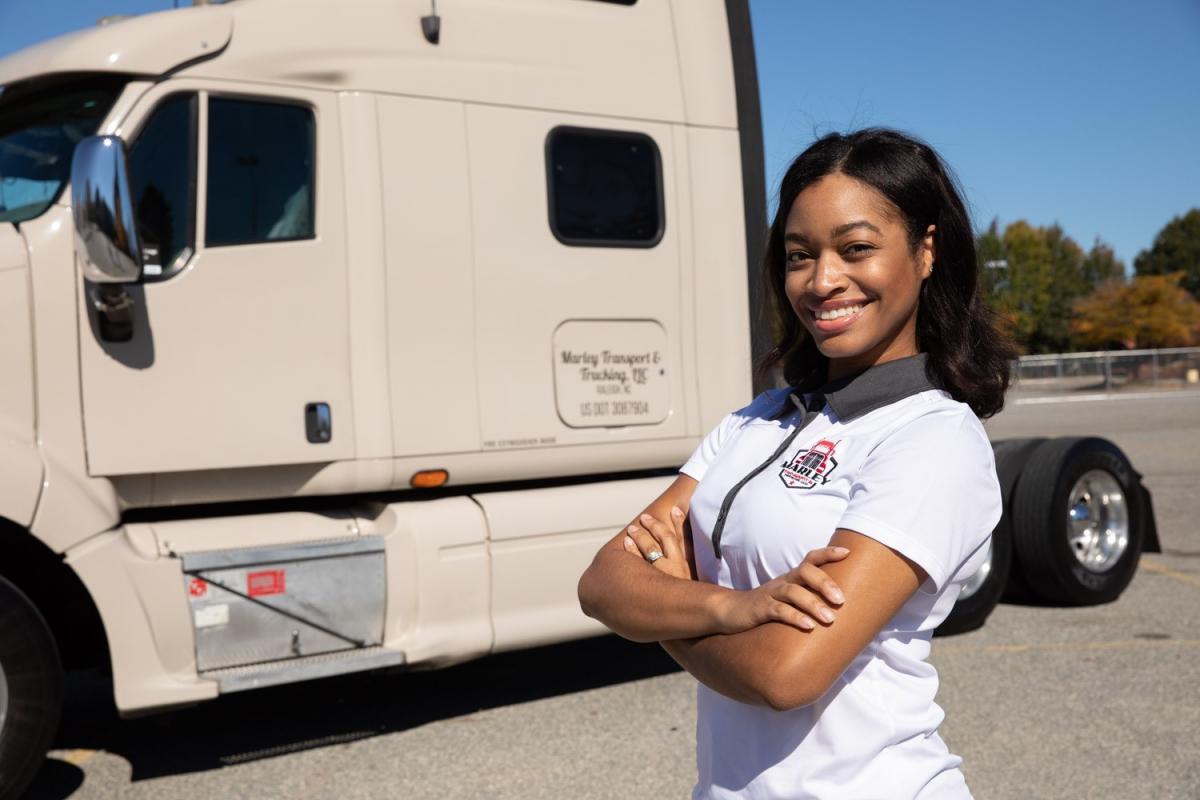 Shavon Marley, Founder of Marley Transport & Trucking.
